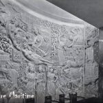 Bas Relief in one of the public rooms