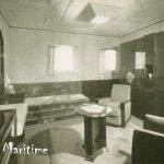 Stateroom with hideaway bed
