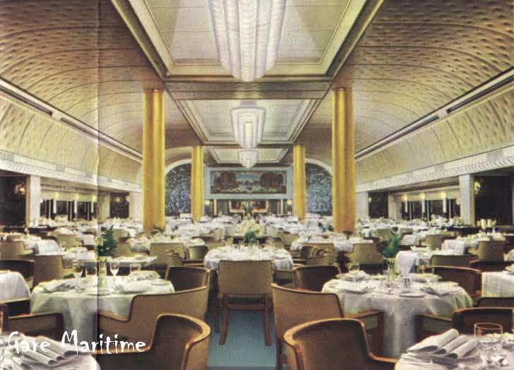 Ss Nieuw Amsterdam Dining Room