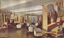 Andrea Doria First Class Lounge
