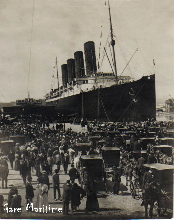 the details of the popular lusitania maiden voyage of 1906 Maritime archives & library information sheet 42 rms lusitania the rms lusitania, or the lucy as she was affectionately known, was launched on thursday 7 june 1906, at the shipyard of john brown & co, clydebank.
